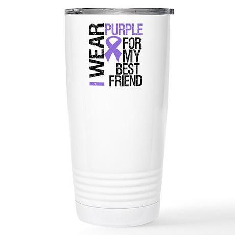 IWearPurpleBestFriend Stainless Steel Travel Mug