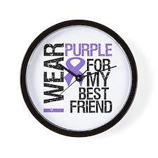 IWearPurpleBestFriend Wall Clock