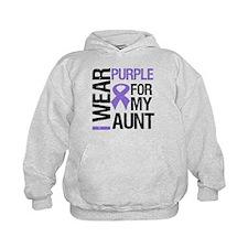 IWearPurple Aunt Hoodie