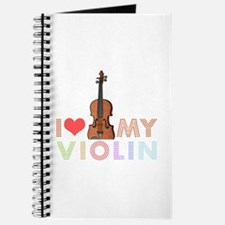 I Love My Violin Journal