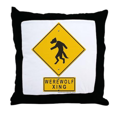Werewolf XING Throw Pillow