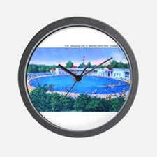 Idora Park Pool Wall Clock