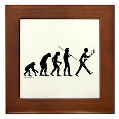 Waiter Evolution Framed Tile