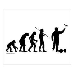 Painter Evolution Posters