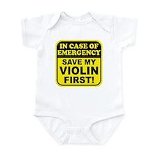 Save My Violin Infant Bodysuit