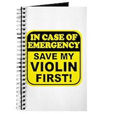 Save My Violin Journal