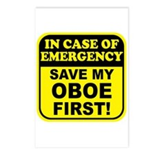 Save My Oboe Postcards (Package of 8)