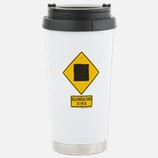 Gelatinous Cube Crossing Travel Mug