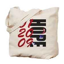 01 20 09 Obama Hope Tote Bag