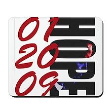 01 20 09 Obama Hope Mousepad