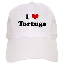 I Love Tortuga Baseball Cap