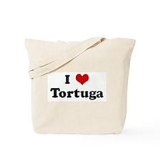 I Love Tortuga Tote Bag
