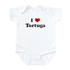 I Love Tortuga Infant Bodysuit