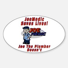 Joe Medic Life Saver Oval Decal