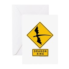 Dragon XING Greeting Cards (Pk of 20)