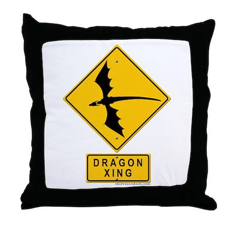 Dragon XING Throw Pillow