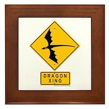 Dragon XING Framed Tile