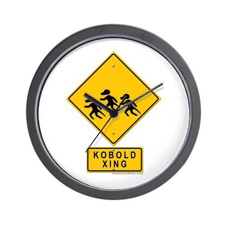 Kobold XING Wall Clock