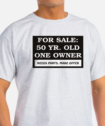 For Sale 50 Year Old Birthday T-Shirt