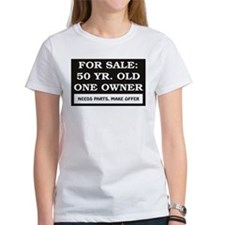For Sale 50 Year Old Birthday Tee