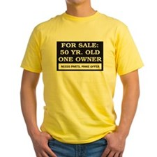 For Sale 50 Year Old Birthday T