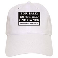For Sale 50 Year Old Birthday Baseball Cap