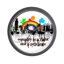 Equality is a right! Wall Clock