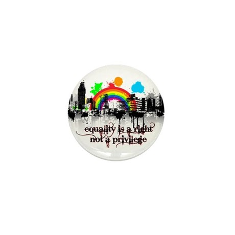 Equality is a right! Mini Button (10 pack)