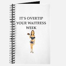 waitress humor Journal