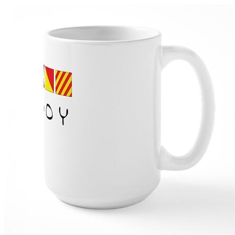 Nautiboy Large Mug