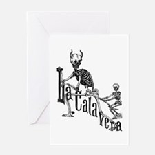 Calavera del Diablo Greeting Card