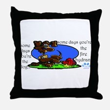 Bad day? Throw Pillow
