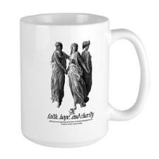Faith, Hope, and Charity Mug