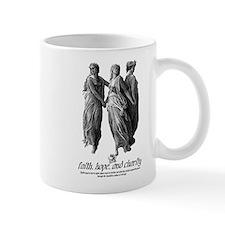 Faith, Hope, and Charity Mug