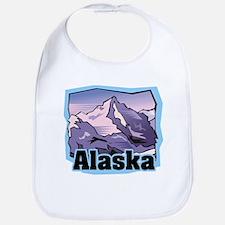 Alaska Mountains Bib