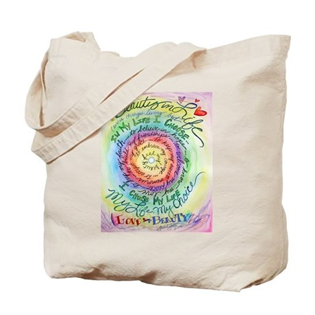 Beauty in Life (Cancer) Tote Bag