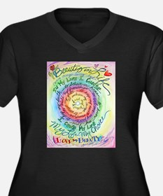 Beauty in Life (Cancer) Women's Plus Size V-Neck D