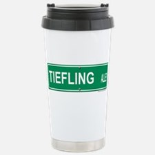 Tiefling Alley Stainless Steel Travel Mug