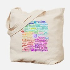 Peace of Many Tote Bag