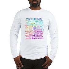 Peace of Many Long Sleeve T-Shirt