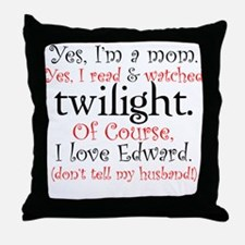 Twilight Moms 4 Throw Pillow