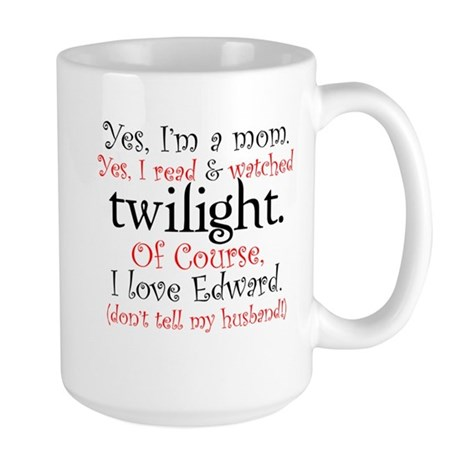 Twilight Moms 4 Large Mug
