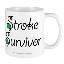 Stroke Survivor - Green Mug