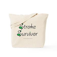 Stroke Survivor - Green Tote Bag