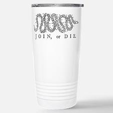 Join or Die 2009 Stainless Steel Travel Mug
