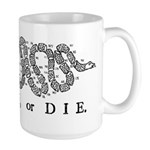 Join or Die 2009 Large Mug