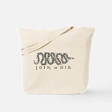 Join or Die 2009 Tote Bag