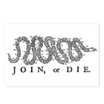 Join or Die 2009 Postcards (Package of 8)