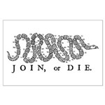 Join or Die 2009 Large Poster