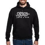 Join or Die 2009 Hoodie (dark)